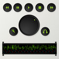Playlist Buttons Stock Photography - 23265962