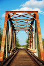 Rusty Railroad Tracks Stock Photo - 23267820