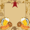 Man Cave Bachelor Party Invitation Royalty Free Stock Photo - 23302575