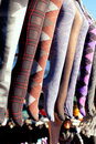 Colorful Tights In A Row Hanging In Market Royalty Free Stock Photography - 23307287