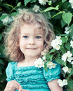 Beautiful Child With Flower Stock Photo - 23326670