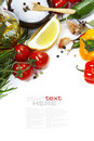 Olive Oil And Ingredients Royalty Free Stock Photography - 23329757