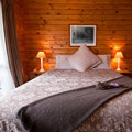 Lodge Bedroom Interior Detail Royalty Free Stock Photography - 23347857
