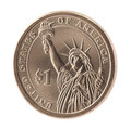 American One Dollar Coin Stock Photo - 23352970