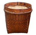 Basket With Rice Royalty Free Stock Image - 23357096