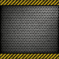 Perforated Metal Background Stock Image - 23363501