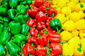 Colored Bell Pepper Paprika Stock Photos - 23375353