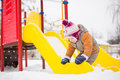 Baby Slide From Baby Slide Royalty Free Stock Photo - 23393785