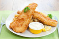 Fish And Chips Royalty Free Stock Photos - 23399178