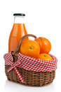 Oranges And Fresh Juice Stock Photography - 2344032