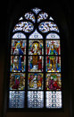 Colorful Stained Glass In Church. Royalty Free Stock Photography - 23410627