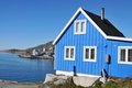 Typical Wooden Fisher House In Qaqortoq, Greenland Royalty Free Stock Images - 23412079