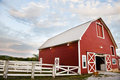 Red Barn Stock Photography - 23419022