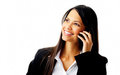 Businesswoman With Phone Stock Photography - 23429712
