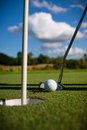 Golf Ball On The Green Royalty Free Stock Images - 23429939