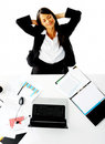 Daydreaming Businesswoman Royalty Free Stock Photos - 23430108