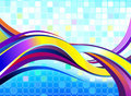 Abstract Colorful Wave Royalty Free Stock Image - 23431396