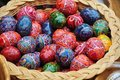 Painted Easter Eggs Royalty Free Stock Photography - 23442807