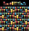 Assorted Bar Glasses Stock Photo - 23445780