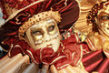 Red And Gold Mask Detail Royalty Free Stock Image - 23447366