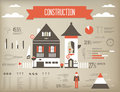 Construction Infographic Royalty Free Stock Images - 23453909