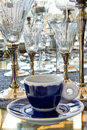 Cup With Vintage Glasses Royalty Free Stock Photo - 23458795
