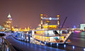 Pleasure-boat Parks At The Shanghai Bund Stock Images - 23463394