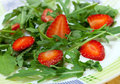 Salad With Strawberry Royalty Free Stock Image - 23466116