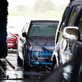 Cars In A Carwash Stock Images - 23467274