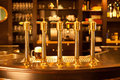 Gold Beer Spigot At The Brewery Stock Image - 23468621