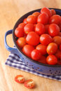 Cherry Tomatos In A Strainer Stock Photography - 23469002