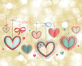 Valentine`s Day Vintage Card Stock Photo - 23479200