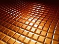 3d Square Pattern Brown Background Royalty Free Stock Photography - 23481487
