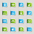 Label - Food Icons Stock Images - 23488264