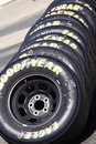NASCAR - Goodyear Racing Eagle Tire Stack Stock Photo - 23489780