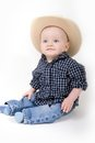 Little Cowboy Royalty Free Stock Photography - 23493547