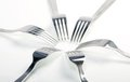 Abstract Fork Background As A Food Concept Stock Photography - 23497052
