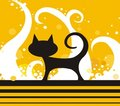 Black Cat Royalty Free Stock Image - 2354996