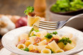 Pasta With Sausage And Broccoli Royalty Free Stock Photography - 23500287