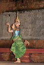 Siem Reap, Cambodia, Apsara Dancer In Traditional Costume Stock Photo - 23521430