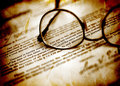 Eyeglasses And Business Stock Photo - 23533610