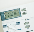 Climate Control 65 Degree Heat Stock Images - 23533934