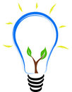 Eco Bulb Royalty Free Stock Photos - 23534088