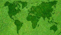 Green World Map Royalty Free Stock Photography - 23535047