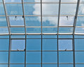 Glass And Metal Ceiling Stock Images - 23543044
