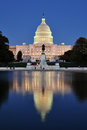 United States Capitol With Reflecting Pool Stock Photography - 23543512