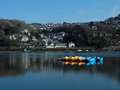 River Looe, Cornwall, England - In Winter Sunshine Royalty Free Stock Image - 23551916