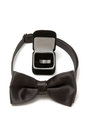 Bow Tie And Wedding Ring Royalty Free Stock Photography - 23559677