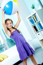 Child With Ball Royalty Free Stock Photo - 23565915