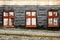 Three Old Vintage Windows Royalty Free Stock Photography - 23569907
